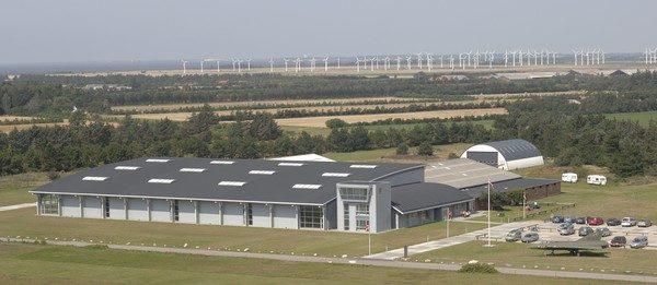 Вид музея с высоты.