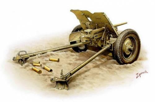 Згонник Дмитрий. Противотанковое орудие Pak-36 Gun.