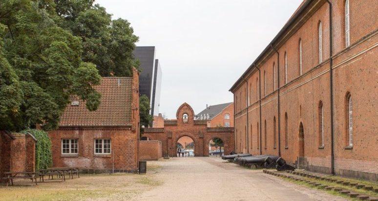 Внутренний двор музея.