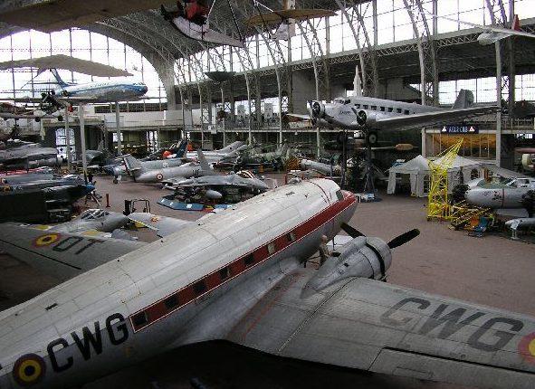 Зал авиации.