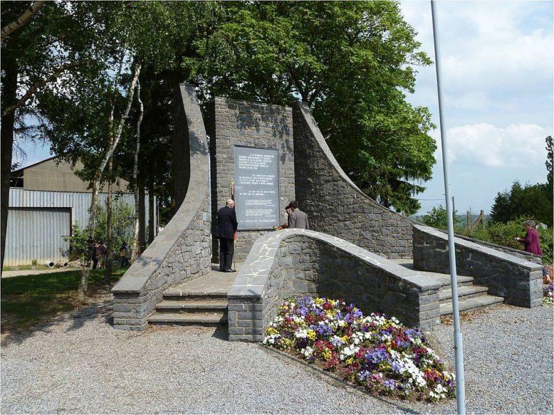 Мемориал в честь французских солдат.