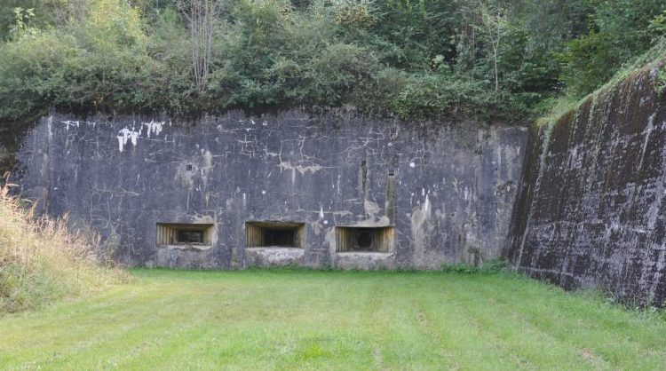 Некоторые из ДОТов форта.