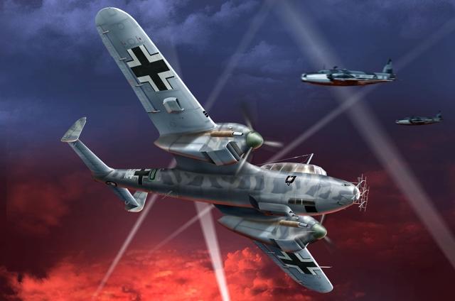 Бут Владимир. Истребитель Do-215 B-5.
