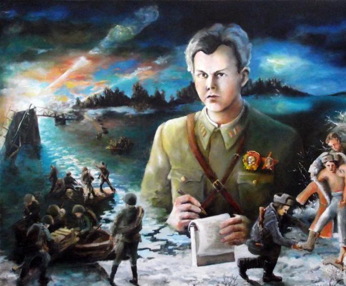 Денисов Владимир. Твардовский. Переправа.