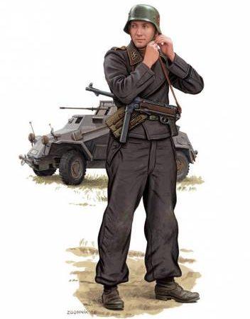 Згонник Дмитрий. Немецкие танкисты.