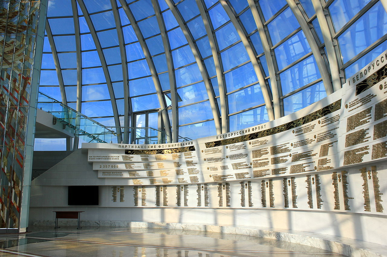 Внутренний интерьер музея.