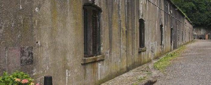 Внутренний двор форта.