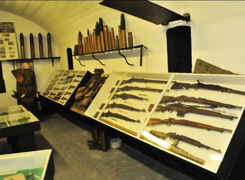 Выставка стрелкового оружия.
