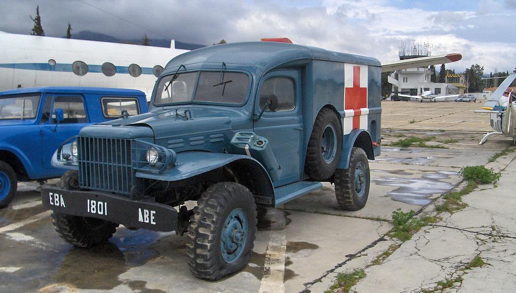 Санитарный автомобиль Dodge WC-54.