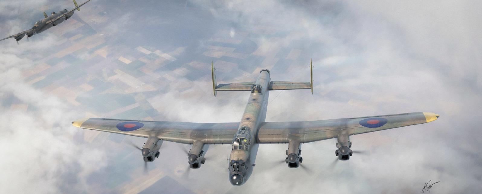 Karidis Antonis. Бомбардировщик Avro Lancaster's.