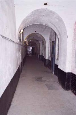 Подземные туннели форта.
