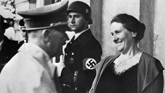 Адольф Гитлер и Винифред Вагнер