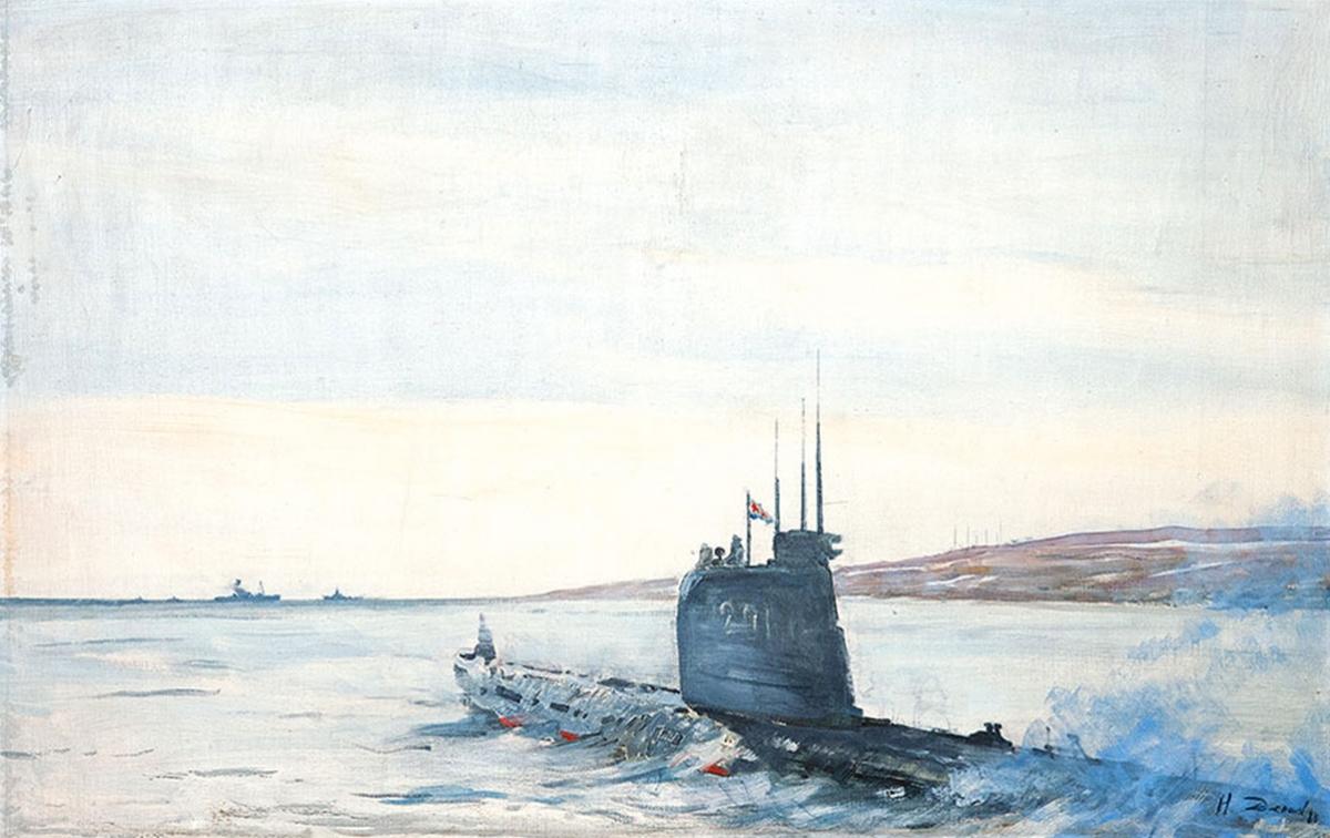 Денисов Николай. В поход.