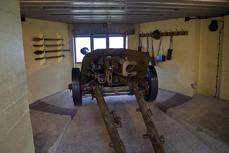 Противотанковая пушка Pak 40.