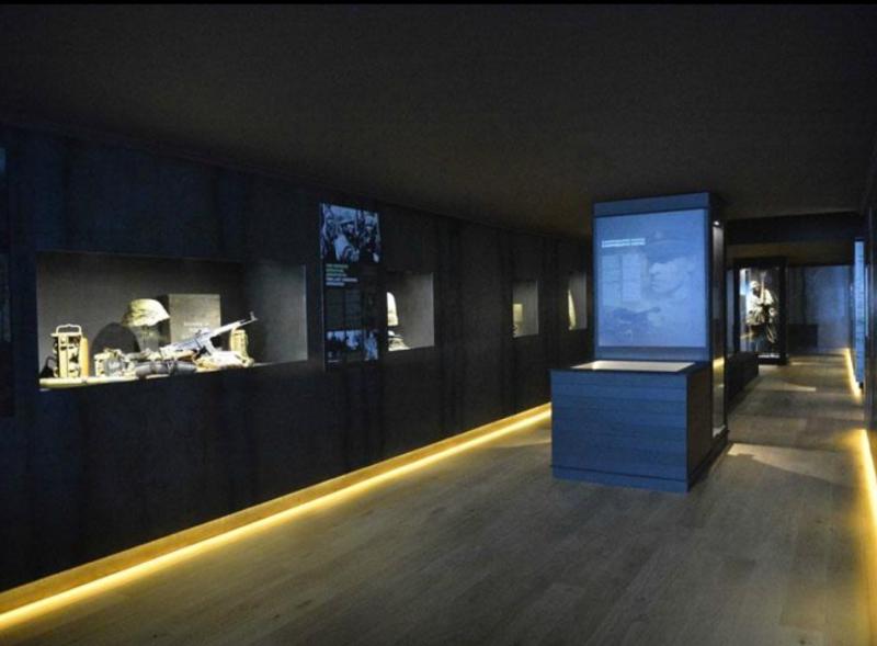 Зал музея.