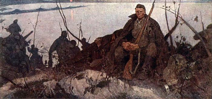 Константиновский Адольф. На рассвете.