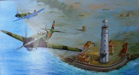 Лубянов Андрей. Воздушный патруль.