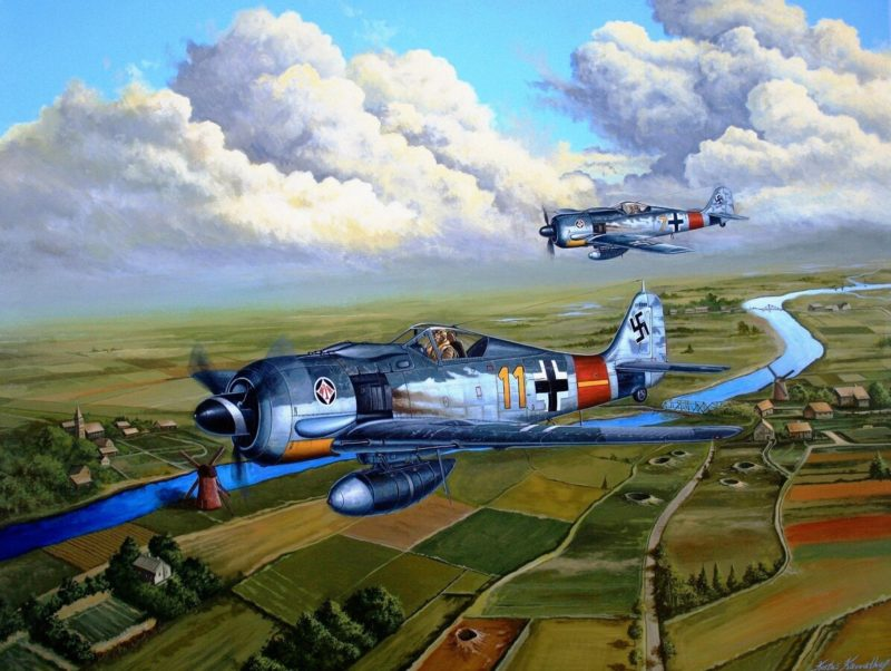 Kavvathias Kostas. Истребитель Focke-Wulf 190.