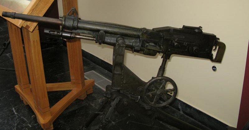Станковый пулемет Этьен.
