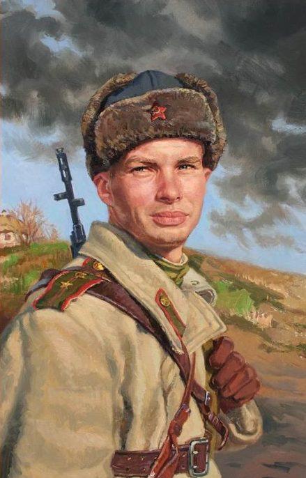 Позняк Сергей. Младший лейтенант Казеннов.