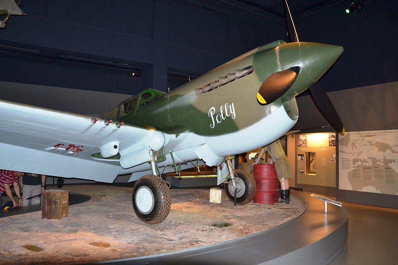 Истребитель Р-40.
