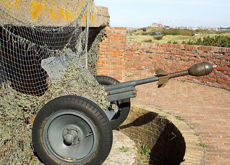 Противотанковое орудие Pak 36.