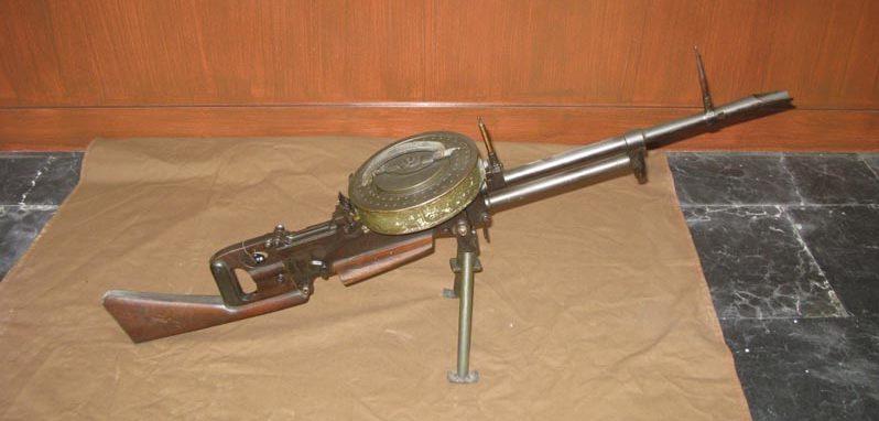 Ручной пулемет Vickers K 7,7 мм.