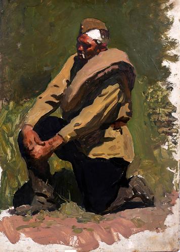 Константиновский Адольф. Солдат.