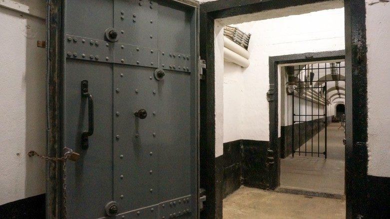 Внутренние помещения форта.