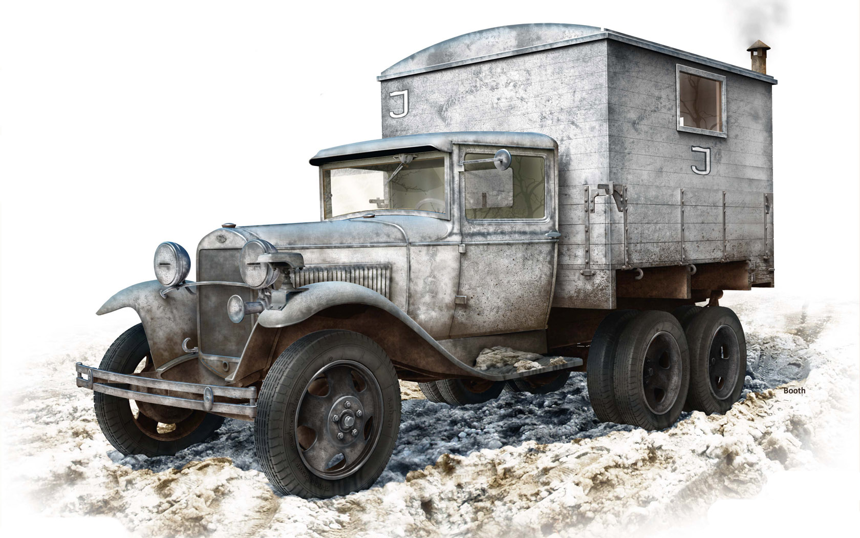 Бут Владимир. ГАЗ-ААА фургон.
