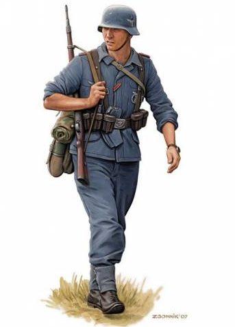 Згонник Дмитрий. Солдаты Luftwaffe.