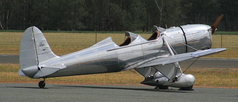 Учебно-тренировочный самолет Ryan STM-S2.