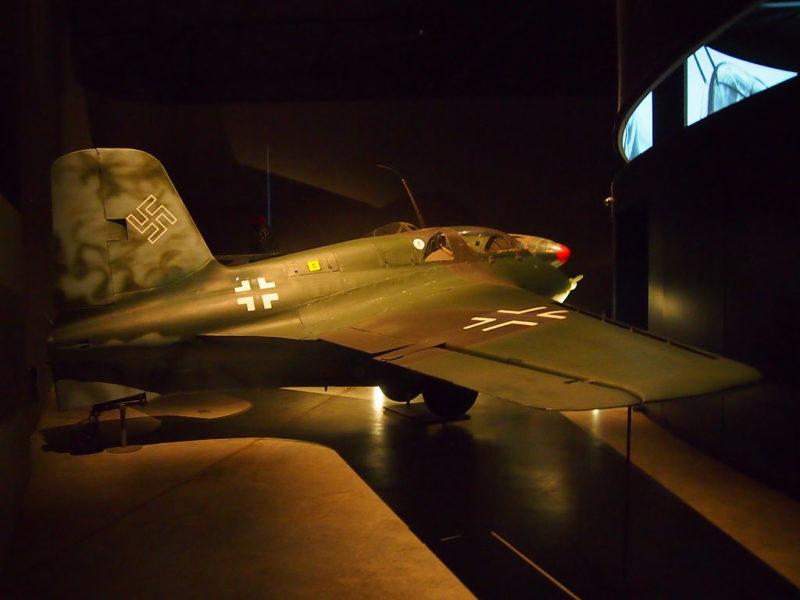 Истребитель Ме-163.