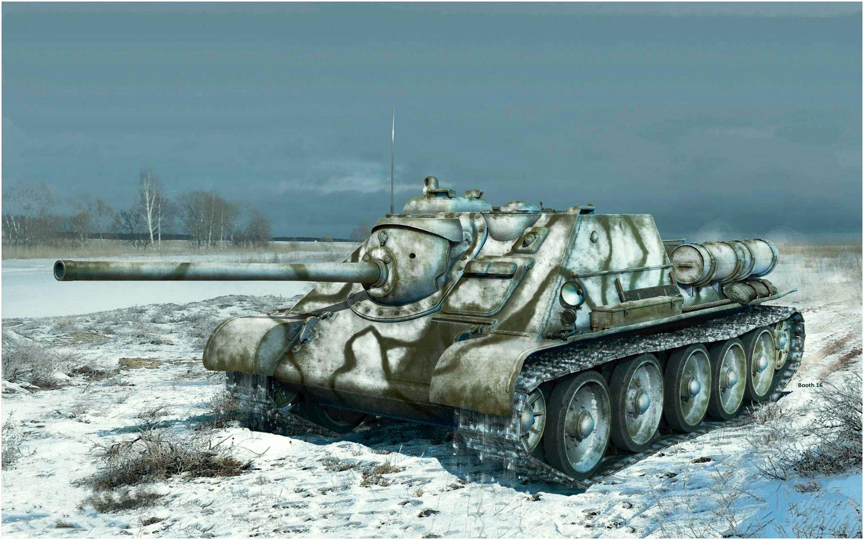 Бут Владимир. САУ СУ-85.