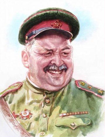 Позняк Сергей. Майор Шереметьев.