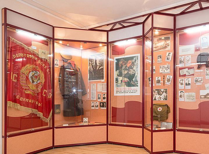 Залы музея.
