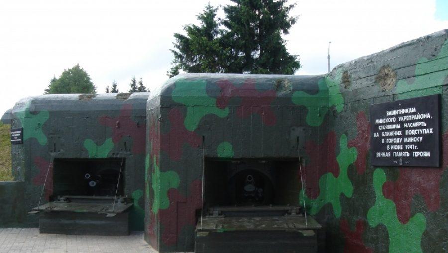 Артиллерийский полукапонир №134.