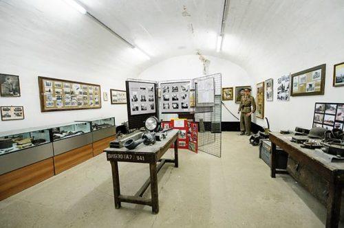 Экспозиции форта.