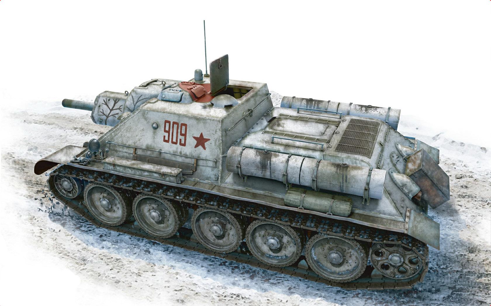 Бут Владимир. САУ СУ-122.