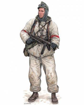 Згонник Дмитрий. Солдат Норвежского батальона.