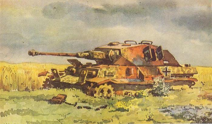 Малаков Георгий. Танк Т-IV.