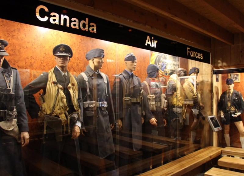 Униформа военных Канады.