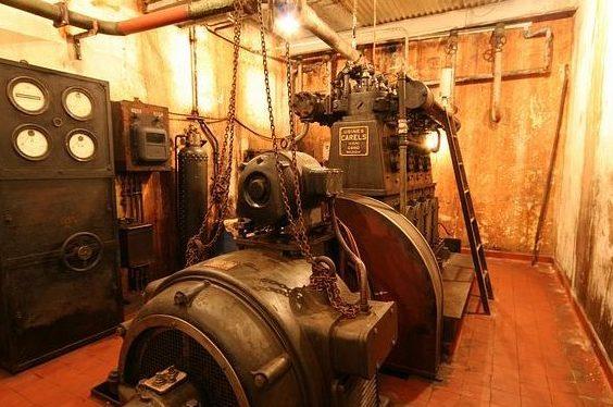 Дизель-генератор.