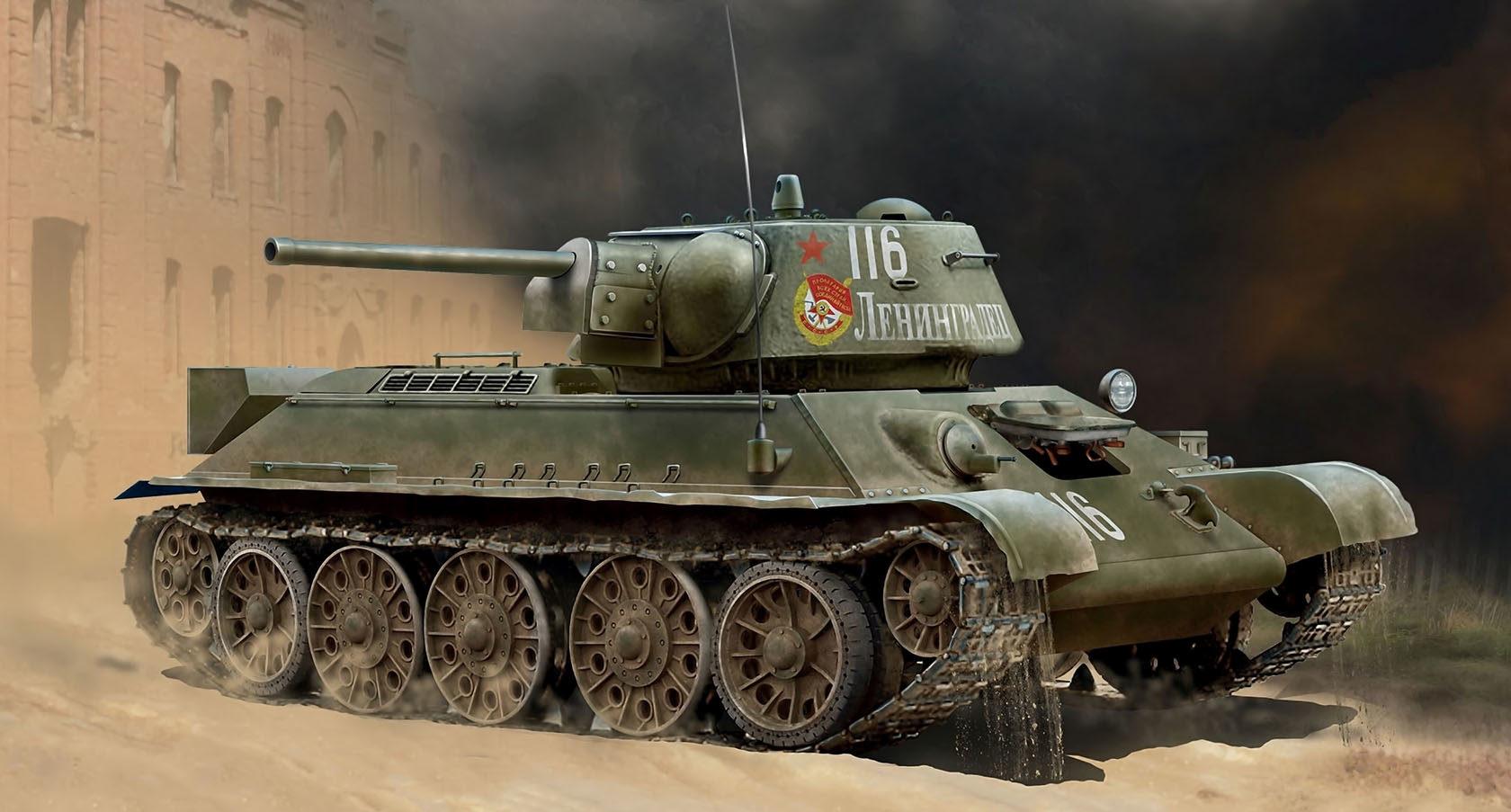 Бут Владимир. Танк Т-34-76.