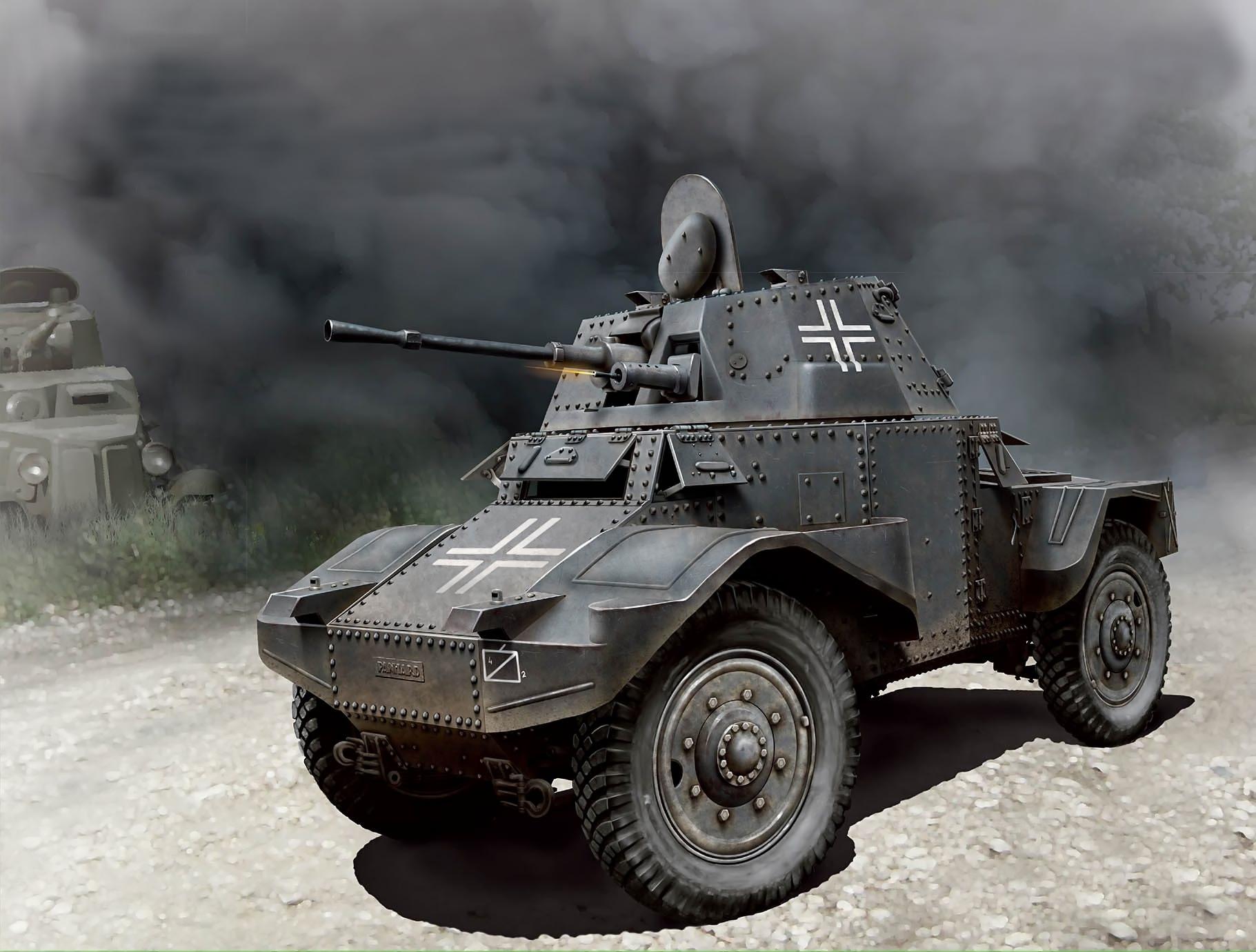 Бут Владимир. Бронеавтомобиль Panhard 178 AMD-35.