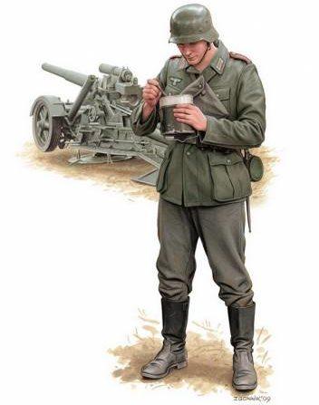 Згонник Дмитрий. Немецкие артиллеристы.