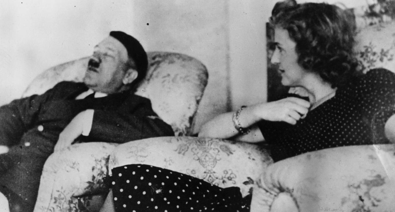 Адольф Гитлер и Ева Браун.