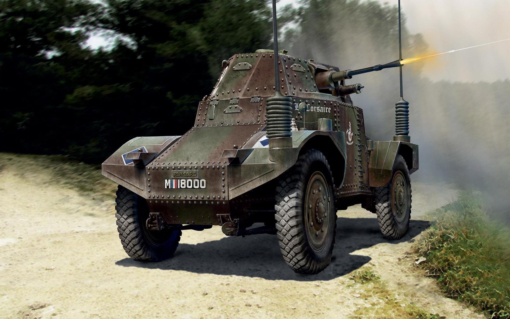 Бут Владимир. Бронеавтомобиль Panhard 178 Command.