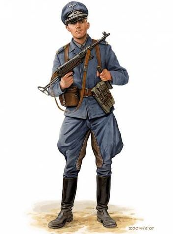 Згонник Дмитрий. Офицер Luftwaffe.