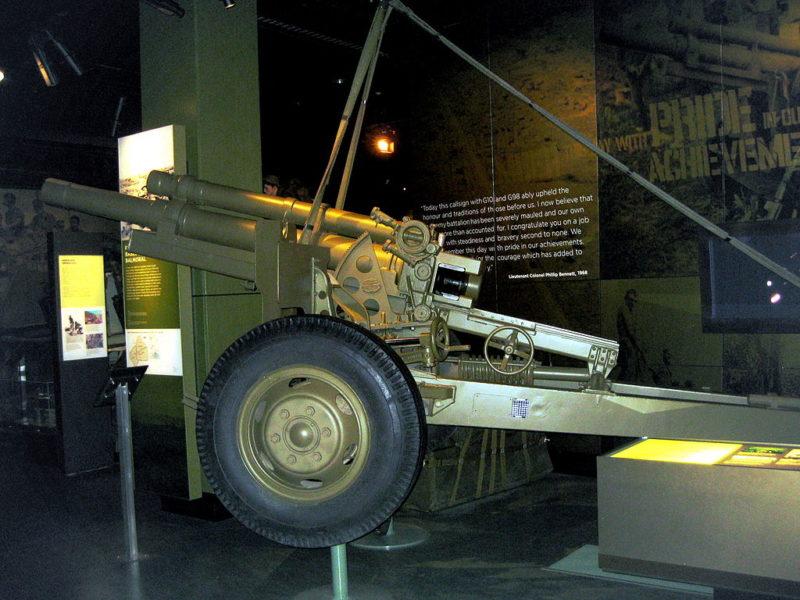 105-мм гаубица М-101.